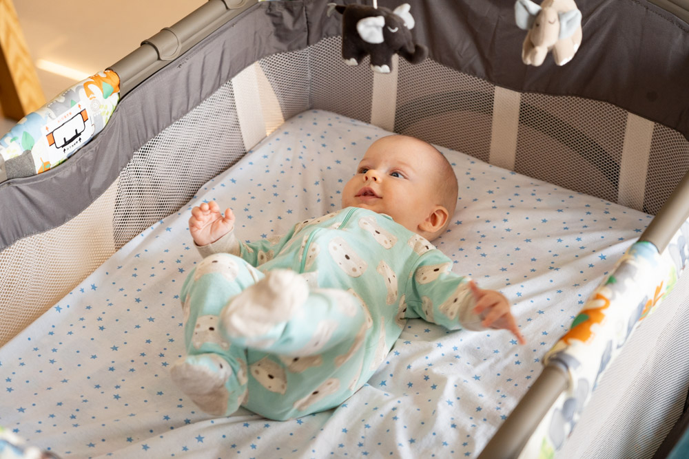 Risks of Bedsharing with a Newborn Baby