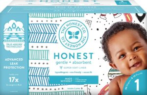 What to Pack in your Diaper Bag: The Honest Company Diapers