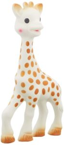 What to Pack in your Diaper Bag: Sophie the Giraffe Teether