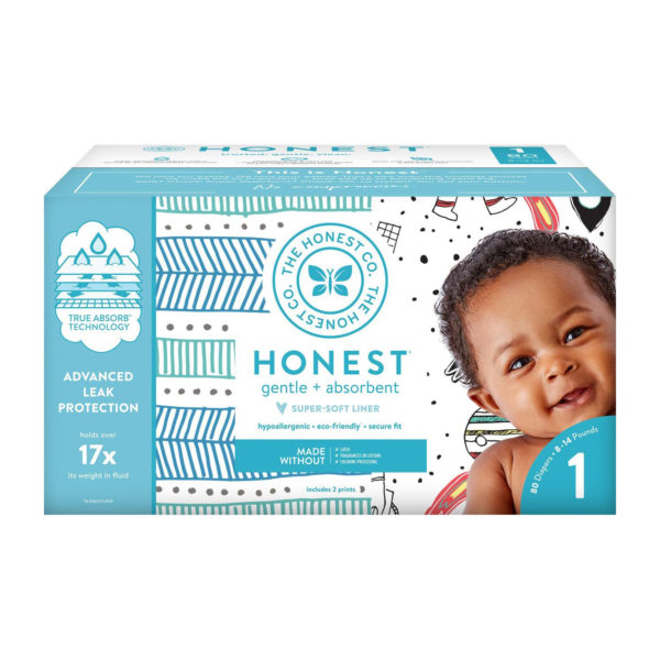 The Honest Company Diapers: Size 1